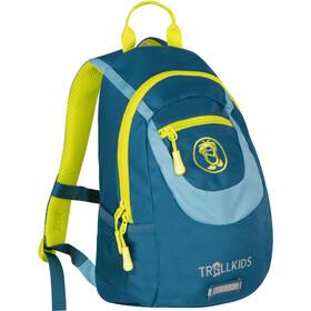 TROLLKIDS Trollhavn Daypack 7l Kids, petrol/dolphin blue/lime